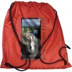 Nylon Drawstring Backpack - Full Color