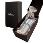 Soft Touch Gift Box with Vacuum Tumbler and Chocolate Covered Espresso Beans