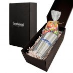 Soft Touch Gift Box with Vacuum Tumbler and Jelly Bellies