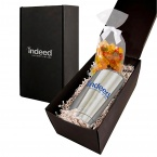 Soft Touch Gift Box with Vacuum Tumbler and Gummy Bears Mug Drop