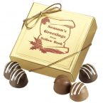 4 Chocolate Truffle Gift Box