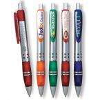 Full Color Domed Metal Click Pen