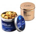 Round Tin with Caramel Popcorn