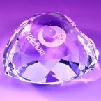 Kenton Heart Shaped Paperweight