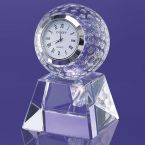Painesville Golf Ball Embedded Clock on Pedestal