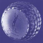 Trafford Flat Side Golf Ball Trophy