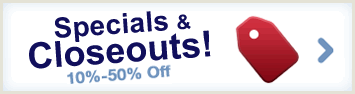 Closeouts and Specials