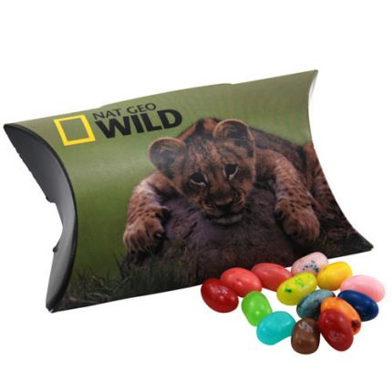 Pillow Box with Jelly Bellies