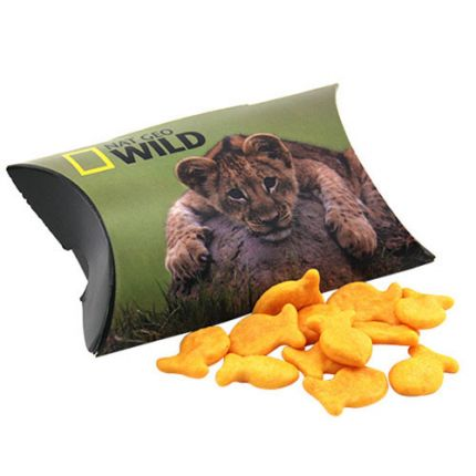 Pillow Box with Goldfish