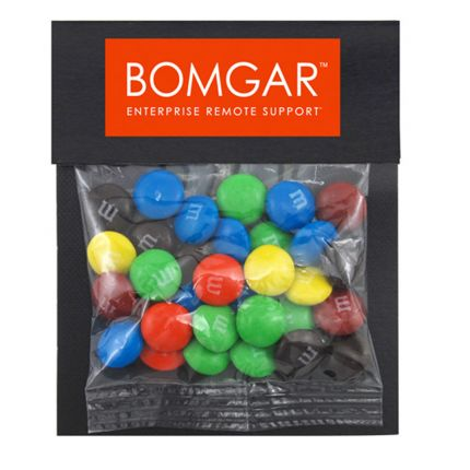 Billboard Bag with M&Ms