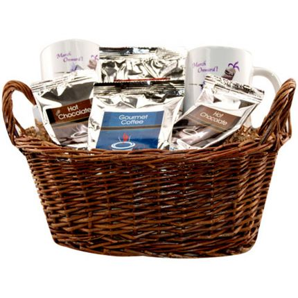 2 Full Color Mug Deluxe Gift Basket