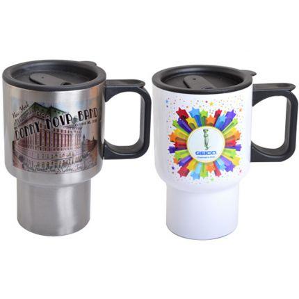 Stainless Steel 14oz Travel Mug