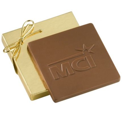 2 oz Custom Chocolate in Gift Box