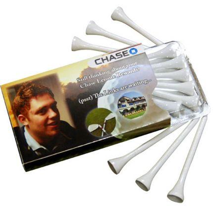 Golf Tees in Envelope - Golfelope