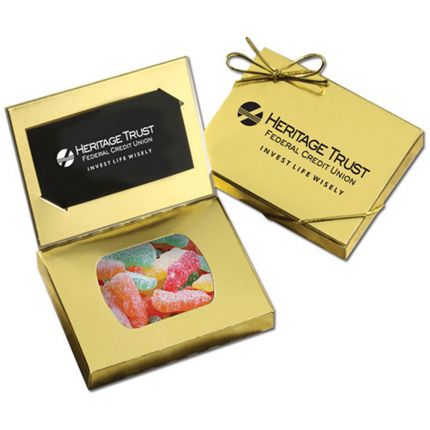 Business Card Box with Sour Patch Kids
