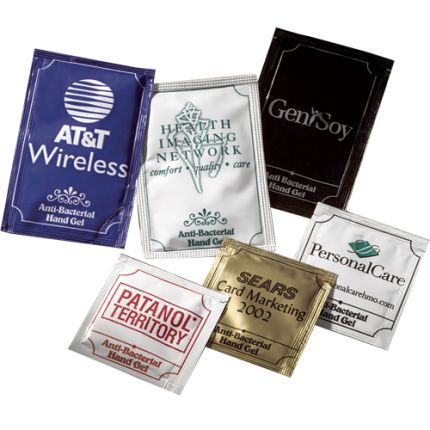Anti-bac Gel Packets