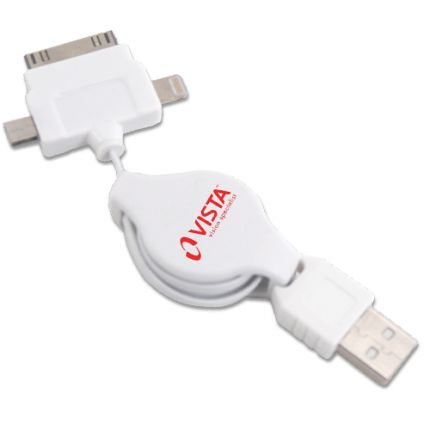 Retractable USB Cord