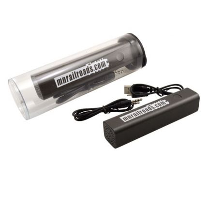Tube Bluetooth Spkr Power Bank