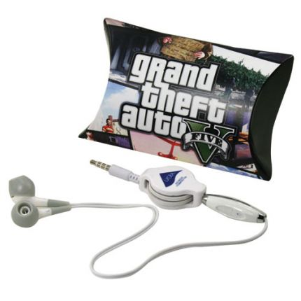 Earbuds in Pillow Pack