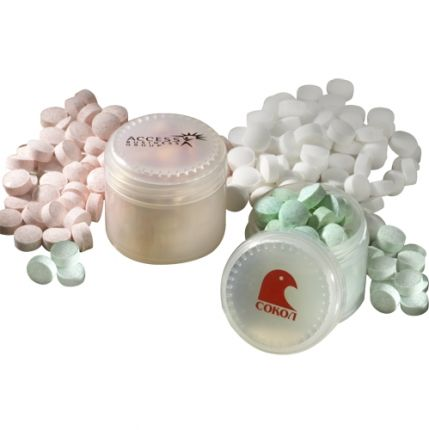 Mints In Translucent Jar - SOLD OUT