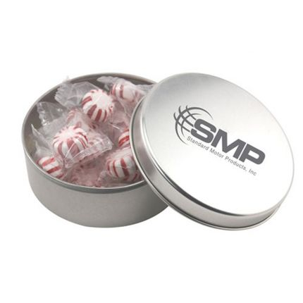 Round Tin with Starlight Peppermints