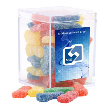 Acrylic Box with Sour Patch Kids