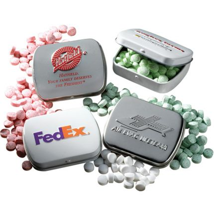 Embossed Mini Mint Tin with Mints