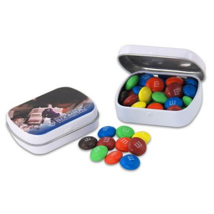 Mini Hinged Tin- M&M's