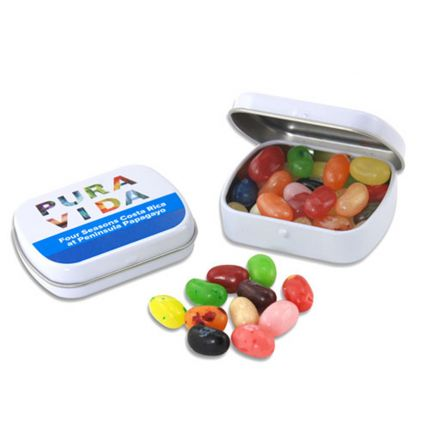 Mini Hinged Tin- Jelly Bellies