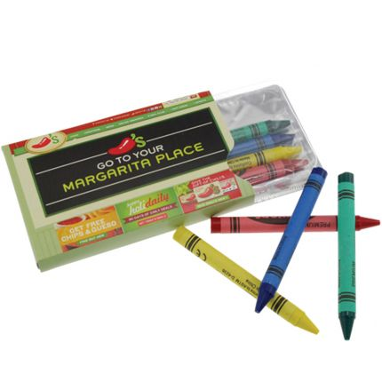Crayons in Sleeve