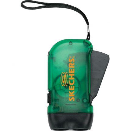Battery Free Crank LED Flashlight