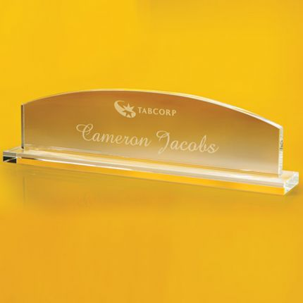 Arch Shaped Nameplate