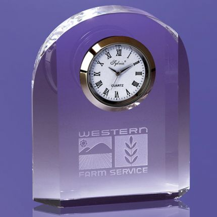 Arch Like Award Imbedded Clock
