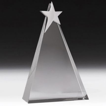 Triangle Star Award 6 1/4""