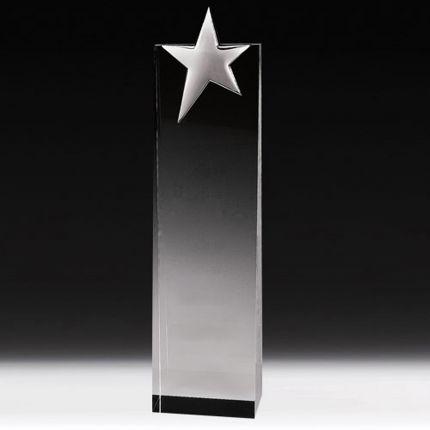 """Rectangle Star Award 6 3/4"""""""