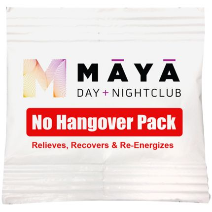 Hangover Tablet Packets - Full Color